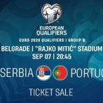 ONLINE MATCH TICKETS SALE –– UEFA EURO 2020/QUALIFYING MATCH - SERBIA-PORTUGAL