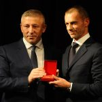UEFA PRESIDENT, ALEKSANDER ČEFERIN, RECEIVED THE FSS GOLDEN PIN | LONG LIVE THE SERBIAN FOOTBALL (VIDEO)