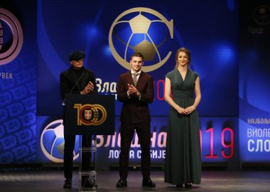 THE BEST FEMALE AND THE BEST MALE FOOTBALL PLAYER   THE 2019 GOLDEN BALL TO VIOLETA SLOVIĆ AND DUŠAN TADIĆ (VIDEO)