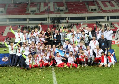"""VOJVODINA - WINNER OF CUP OF SERBIA 