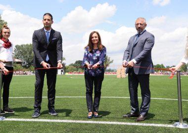 NEW STADIUM OPENED IN KRUŠEVAC | MILOŠEVIĆ AND STANKOVIĆ SHARED EQUIPMENT