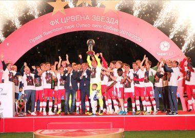 FK CRVENA ZVEZDA - CHAMPION FOR THE 31ST TIME