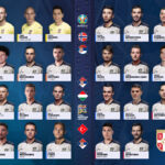 HEAD COACH LJUBIŠA TUMBAKOVIĆ ANNOUNCED THE LIST OF PLAYERS FOR MATCHES AGAINST NORWAY, HUNGARY AND TURKEY