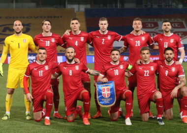 DRAW -  COURAGEOUS SERBIA AGAINST PORTUGAL