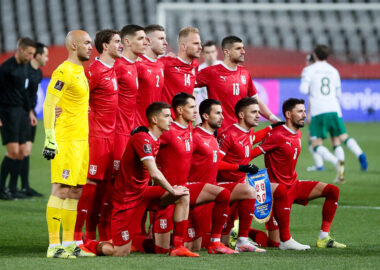 SERBIA TRIUMPH OVER REPUBLIC OF IRELAND ON THE START OF THE 2022 WORLD CUP QUALIFYING CAMPAIGN