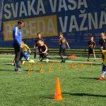 УЕФА Недеља фудбала на Ади Циганлији, празник дечије радости