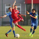 Селекција до 20 година одиграла нерешено са Украјином - 1:1(1:1)
