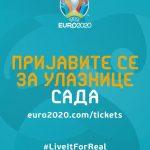 PRODAJA ULAZNICA ZA UEFA EURO 2020