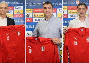 U21, U19, U17 | СРБИЈА ДОБИЛА ТРИ НОВА СЕЛЕКТОРА